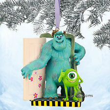 2014 Monsters Inc. Mike & Sulley Sketchbook Christmas Ornament Disney Store NEW