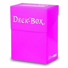 2 x Ultra Pro Trading Card Deck Boxes - Bright Pink. Magic The Gathering etc