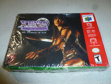 FACTORY SEALED NEW NINTENDO 64 N64 GAME XENA WARRIOR PRINCESS THE TALISMAN FATE