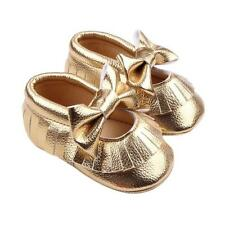 Baby Girls Crib Bowknot Pattern Infant Shoes  Leather Toddler Casual Shoes  J1