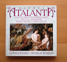 Handel Atalanta Capella Savaria McGegan 3xLP Digital Hungaroton SLPD 12612-14 NM