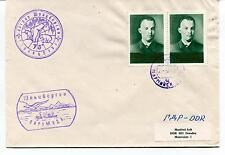 URSS CCCP Exploration Mission Base Ship Polar Antarctic Cover / Card
