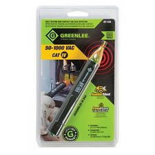 Greenlee GT-12A Non Contact Voltage Detector LED Self Test CAT IV 50 - 1000 VAC