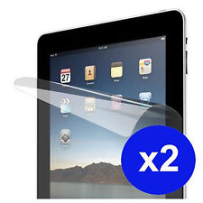 2  X CLEAR SCREEN LCD FILM COVER PROTECTOR FOR IPAD IPAD 1st gen  UK STOCK