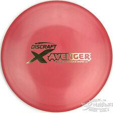 NEW Red ELITE X AVENGER Maximum Distance Driver 168g Discraft Disc Golf Gold St.