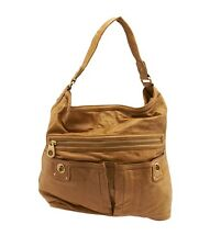 Marc Jacobs Tan Leather Shoulder Bag