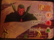 Marvel Overpower Mission Control Vision Hero Card - NrMint-Mint Condition