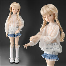 "Dollmore 17"" 1/4 BJD doll clothes outfits  MSD SIZE - Lapia Blouse (F White)"