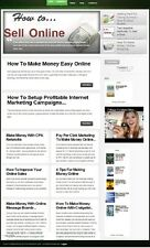 niche WORK AT HOME BLOG WEBSITE BUSINESS FOR SALE! READY TO MAKE MONEY