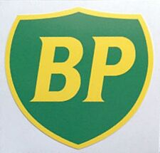 BP Shield GIANT peel-off vinyl sticker / decal (ff)