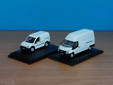 oxford diecast ford transit + connect vans x2 van   00 gauge 1:76 scale hornby