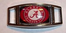 Set Of (2) University Of Alabama ROLL TIDE Shoelace Charms For Paracord Projects