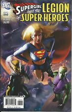 DC Supergirl and the Legion of Superheroes comic issue 32