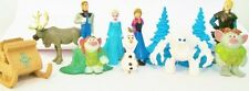 FROZEN 12 Figure Set Disney PVC TOY Cake Topper ELSA Olaf MARSHMELLOW Anna TROLL