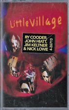 LITTLE VILLAGE (COODER, HIATT, LOWE)  - SELF TITLED - REPRISE - SEALED CASSETTE