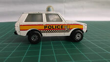MATCHBOX 75 ROLAMATICS 20 POLICE PATROL RANGE ROVER Diecast Toy Car Collectible