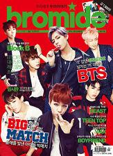 Bromide BTS BLOCK B BEAST TEENTOP VIXX :Magazine+MiniCalendar 2014 DEC dark mood