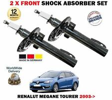 FOR RENAULT MEGANE 2 SPORT TOURER 2003-- NEW 2 X FRONT SHOCK ABSORBER SHOCKER X2
