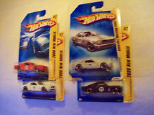 2008 Hot Wheels Mainline FE Mustang Fastback Variation Set of 4 Cars as Pictured