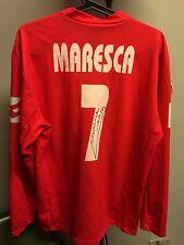 Maglia Match Worn Maresca PIACENZA Calcio / ISSUED Autografata