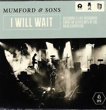 "Mumford & Sons - I Will Wait - Rare Low Numbered 7"" EU Vinyl 45 - New & Sealed"