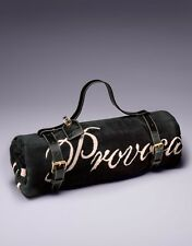 AGENT PROVOCATEUR DOUBLE AP LOGO BEACH TOWEL & HOLDER BNIB RRP £310