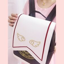 Cosplay Card Captor Sakura Backpack School Bag Shoulder Bag Bookbag Rucksack