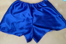 royal satin boxers pants bloomers french maid cosplay sissy adult baby 34-42