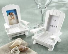 4 Adirondack Chair Place Card Holders Photo Frames Wedding Favors