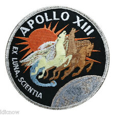 Apollo 13 Mission Embroidered Patch (Official Patch) 10cm Dia approx