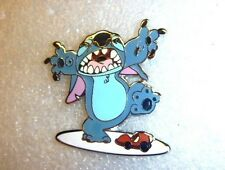 Disney pin Deluxe Pin & Red Lanyard Starter Set (Giant Stitch Only) CUTE!