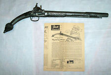 REVELL MIQUELET MOORISH LOCK PISTOL - 1960`s - ASSEMBLED PAINTED ANTIQUED