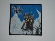 CRUEL FORCE THE RITES OF SATANIC MIGHT WOVEN PATCH