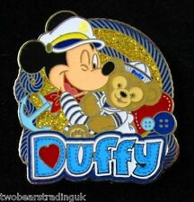 Disney Pin: WDW Captain Mickey and DuffyBear (New/Card)