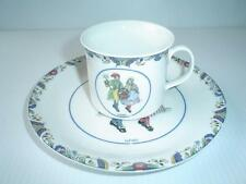 Vintage Rorstrand Swedish National Costumes Porcelain Cup and Saucer Narke