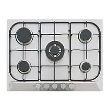 GHFFX70SS 5 BURNER GAS HOB STAINLESS STEEL 680 X 500MM