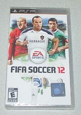 FIFA Soccer 12 for PSP Portable Factory Sealed! Brand New!