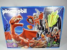 Playmobil 5840 Dragon Rock Castle Knights Open Box - Sealed Packages Complete!