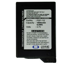1800mAh PSP-110 Battery for Sony PSP Fat Portable Playstation PSP-1000 PSP-1001