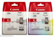PG-512 & CL-513 ORIGINALI Cartucce Inkjet Per CANON MP250, MP 250