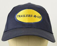 Trailers-R-Us Trucking Hauling Navy Blue embroidered baseball hat cap adjustable
