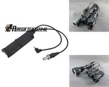 Tactical Dual Remote Pressure Pad Switch for Surefire XM PEQ Weaponlight Black A