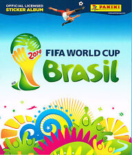 Panini ALBUM - Italy Free Italian Version - Brazil World Cup 2014 - New AIG5