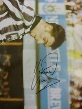 1990's Autograph: Newcastle United-Gillespie, Keith [ mano firmato RIVISTA IMAG