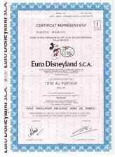 Euro Disneyland S.C.A Paris Disney