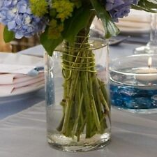 "Case of Glass Cylinder Vase Clear 7 1/4"" - 12/Pk - Wedding Centerpieces, Event"