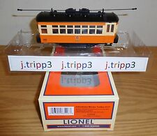 LIONEL 6-83426 JOHNSTOWN BIRNEY BUMPER TROLLEY O GAUGE TRAIN MOTORIZED PASSENGER