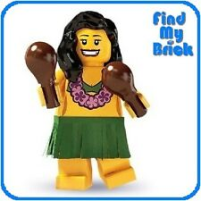 NEW Lego Minifigure 8803 Series 3 - Hula Dancer (Brand New NOT Sealed!) NEW