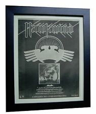 HAWKWIND+Hall Of Mountain Grill+ORIGINAL 1974 POSTER AD+FRAMED+FAST GLOBAL SHIP