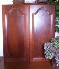 SOLID CHERRY CATHEDRAL PANEL CABINET / CUPBOARD DOOR -Victorian Style